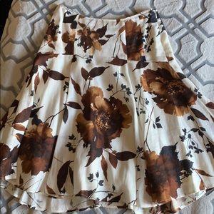 Grace Dane Lewis In Petite Vintage Floral Skirt